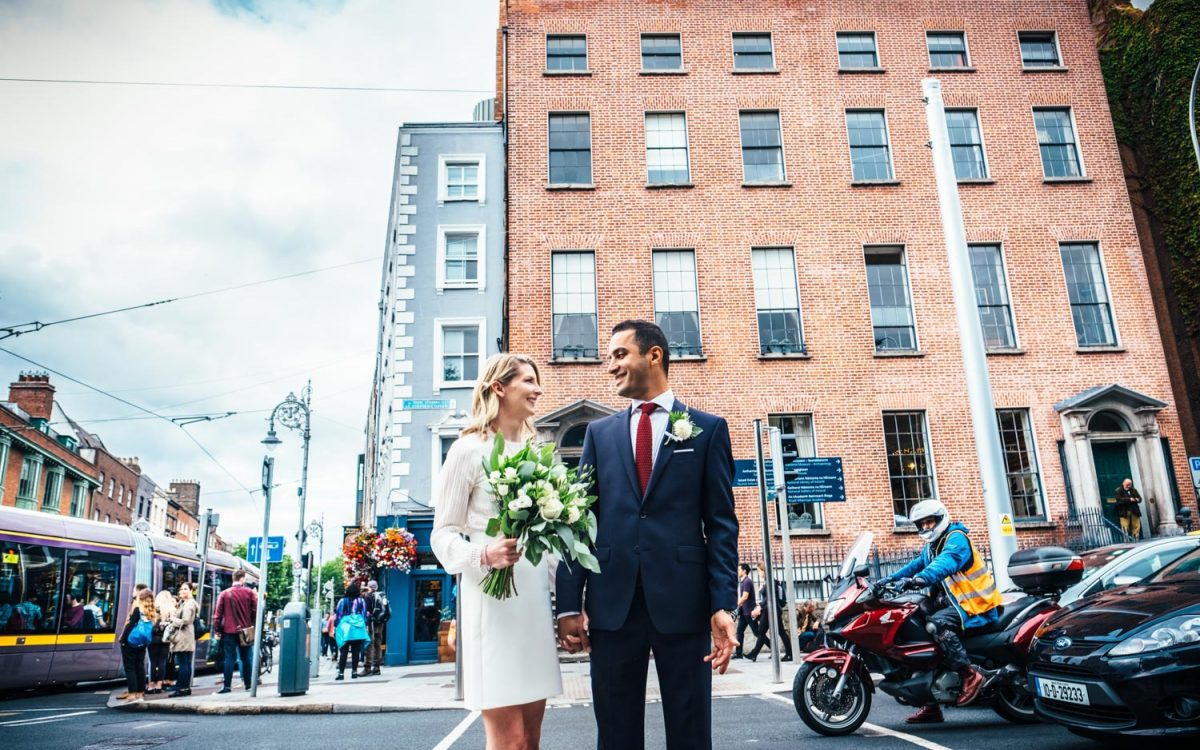 ORLAGH & FARHAD - THE SHELBOURNE HOTEL, DUBLIN