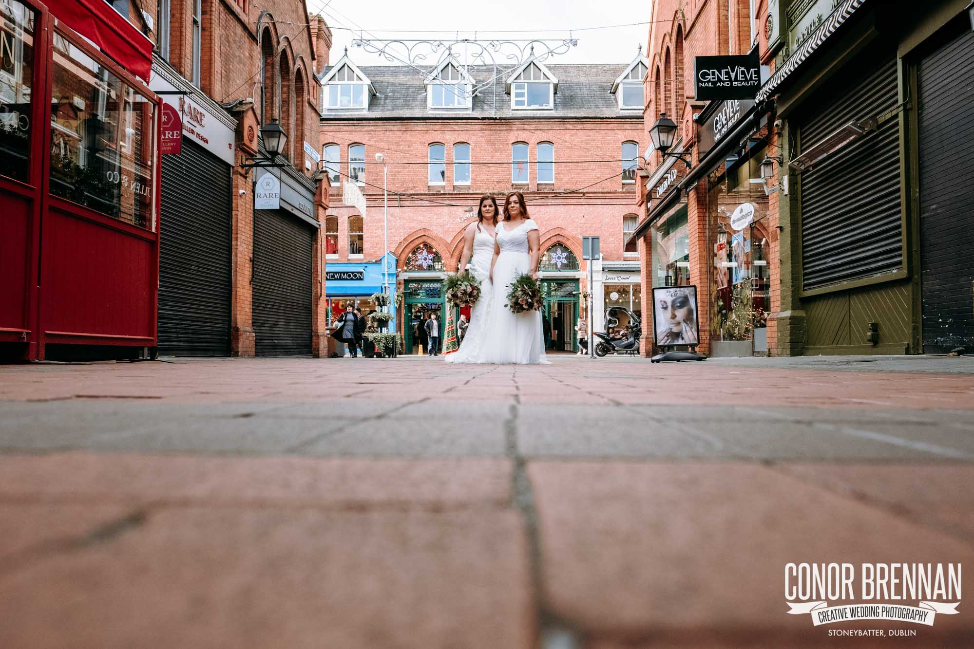 Smock Alley Theatre Wedding Photography in Dublin City