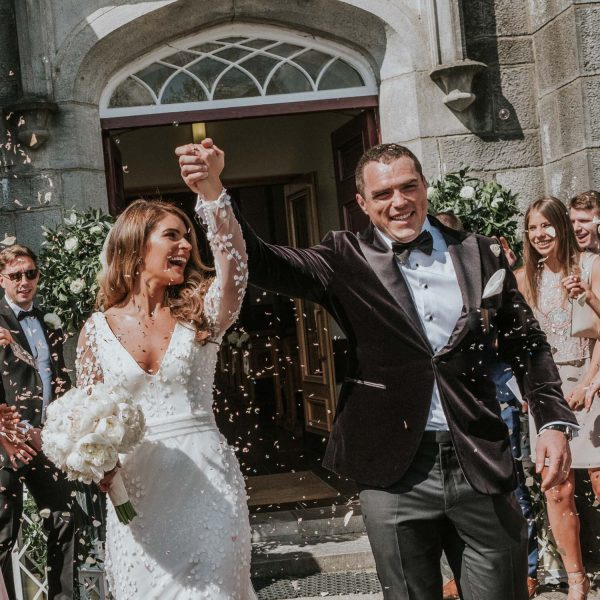 Ballymagarvey Village Wedding photographed by Conor Brennan Photography